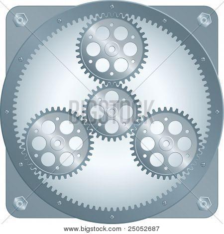sun gear (vector enable in portfolio)