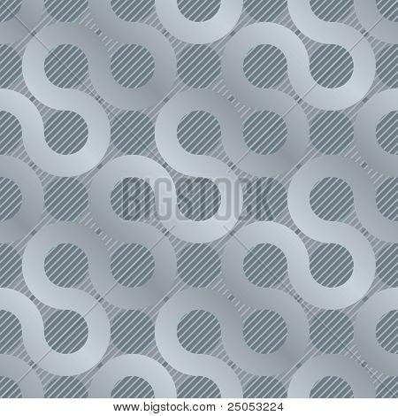 abstract grijs stroom Achtergrond (naadloze patroon)