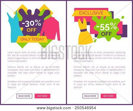 55 Off Exclusive Discount Logotype With Bright Summer Dress, 30 Sale On Modern Blouse. Special Offer