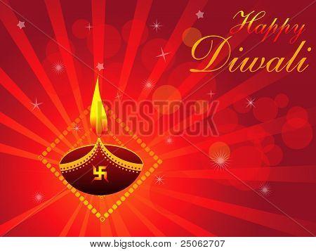 Abstract Deepawali Background