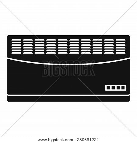 Convector Icon. Simple Illustration Of Convector Vector Icon For Web Design Isolated On White Backgr
