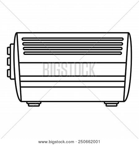 Home Convector Icon. Outline Illustration Of Home Convector Vector Icon For Web Design Isolated On W