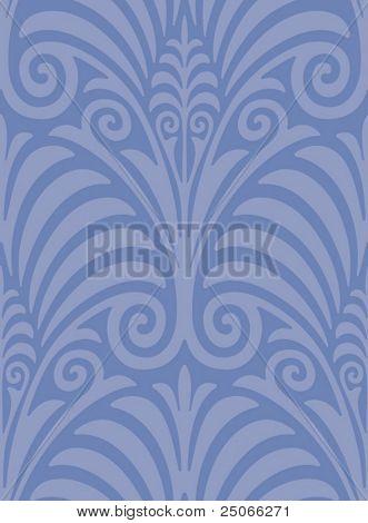 Seamless Jugendstil Web Background