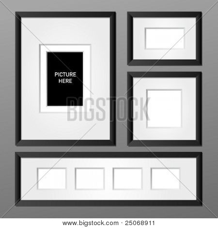 Vector frame collection 1. Editable