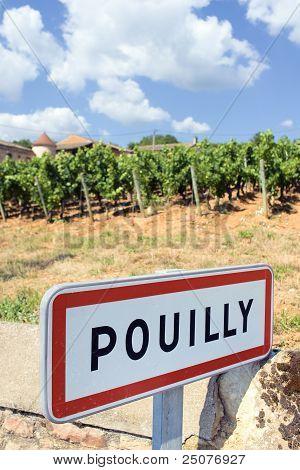 Pouilly Village