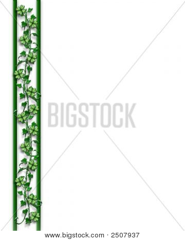 St Pattys Day Page Border