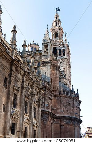 spain, andalusia, seville cathedral