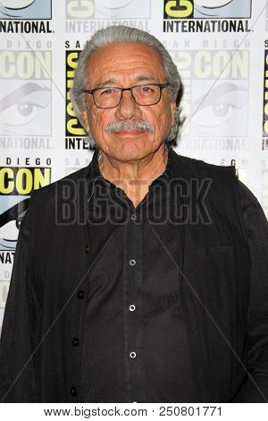 SAN DIEGO - July 22:  Edward James Olmos at the
