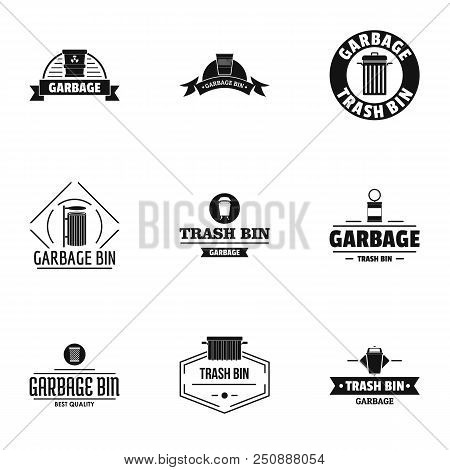 Suck Logo Set. Simple Set Of 9 Suck Vector Logo For Web Isolated On White Background