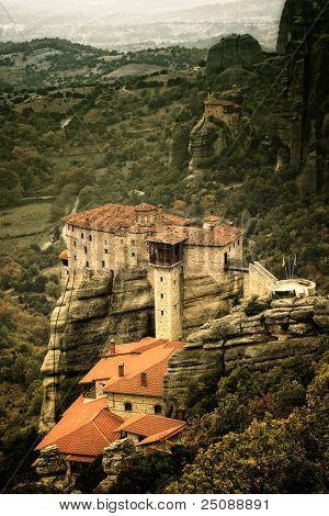 The famous Meteora Monasteries, Greece