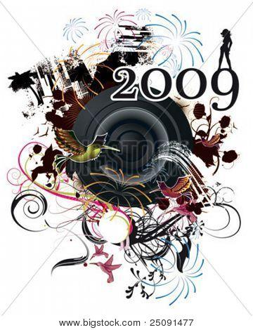 Silvester poster 2009