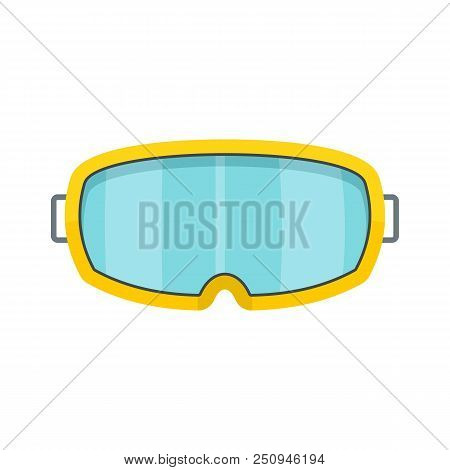 Under Water Glass Mask Icon. Flat Illustration Of Under Water Glass Mask Vector Icon For Web Isolate
