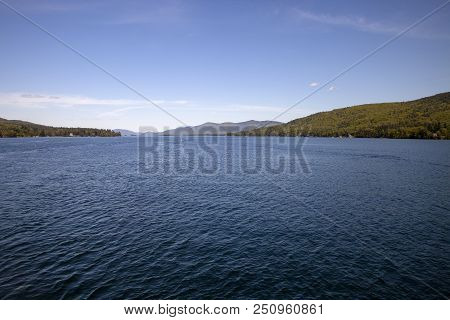 The Famous Waters Of Lake George In New York