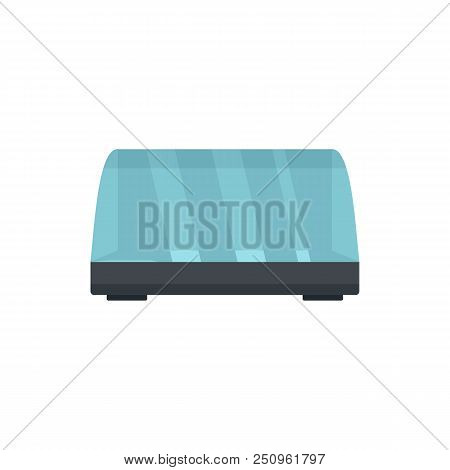 Commercial Fridge Icon. Flat Illustration Of Commercial Fridge Vector Icon For Web Isolated On White