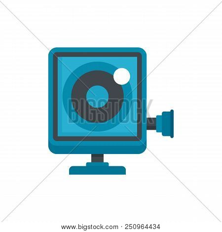 Action Camera Icon. Flat Illustration Of Action Camera Vector Icon For Web Isolated On White