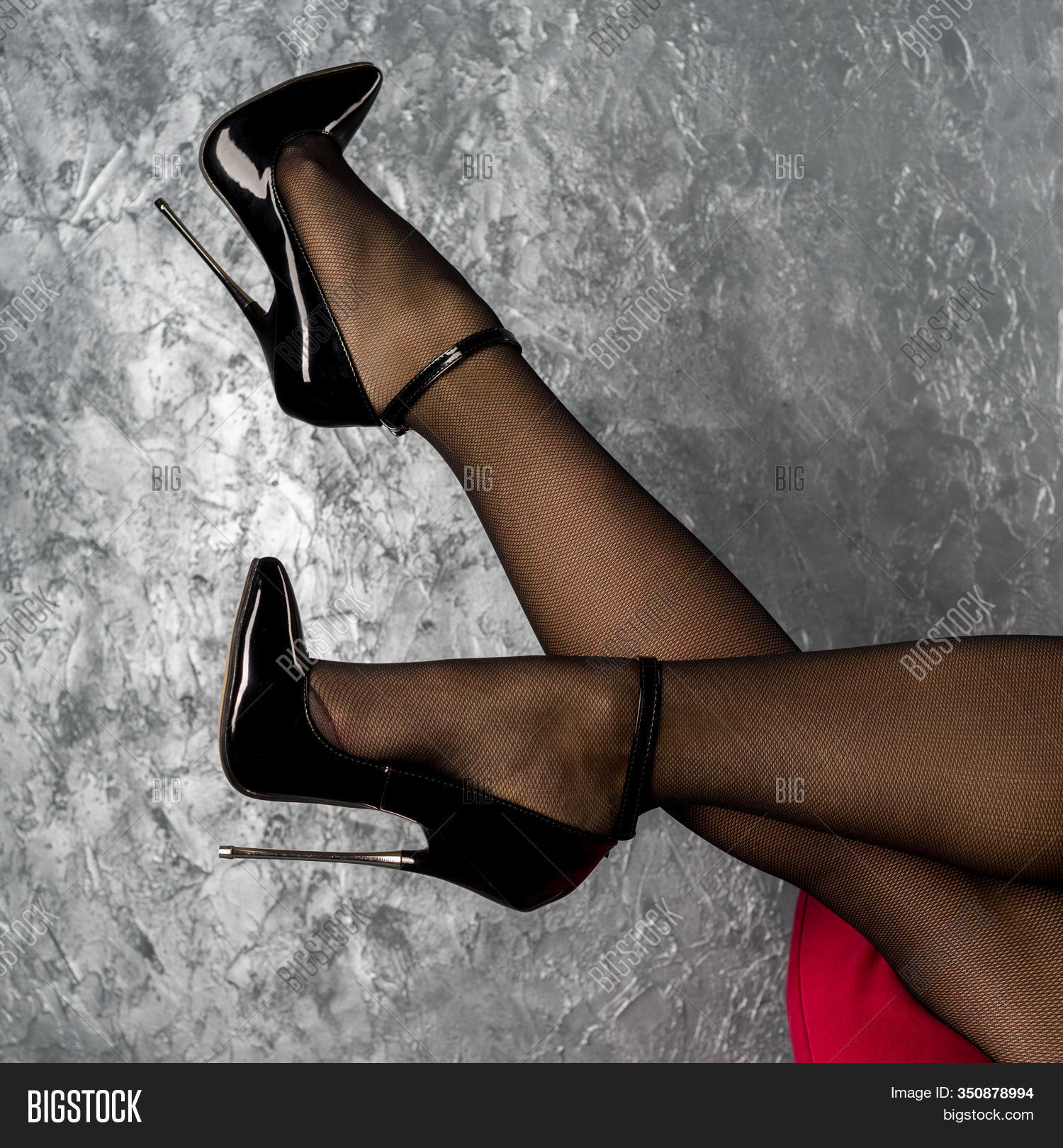Woman Legs Black Image Photo Free Trial Bigstock