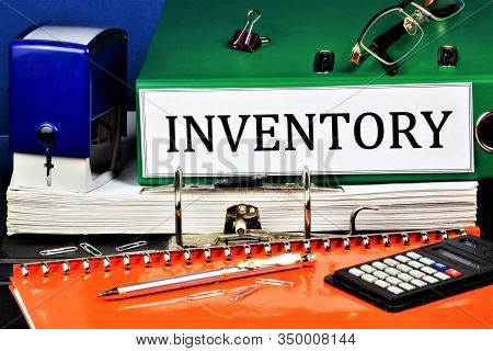 Inventory - Household Items And Equipment For Production Purposes Of The Enterprise. Detailed And Ac