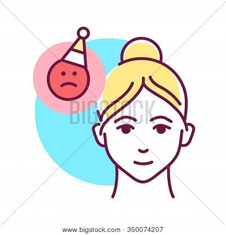 Use Humor To Remove Voltage Color Line Icon. Be Positive. Treat Everything With Humor. Always Smile.