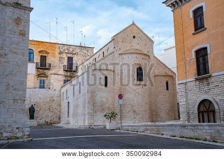 Basilica Di San Nicola Church In Bari. Italy.