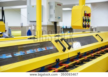 Automatic Industrial Line For Washing And Cleaning Carpets