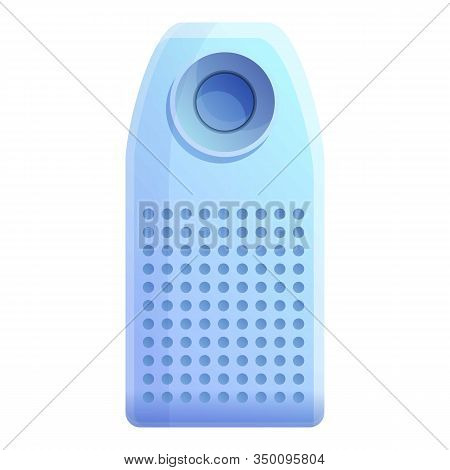 Room Air Purifier Icon. Cartoon Of Room Air Purifier Vector Icon For Web Design Isolated On White Ba