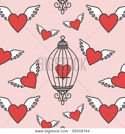 Hearts-flying