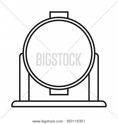 Isolated Object Of Spotlight And Light Symbol. Web Element Of Spotlight And Floodlight Stock Symbol