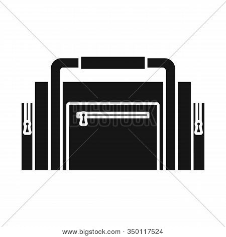 Isolated Object Of Diver And Tool Sign. Web Element Of Diver And Regulator Stock Vector Illustration