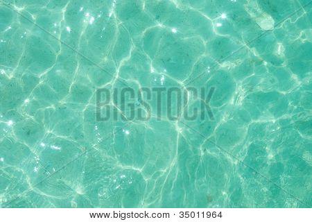 Light green water ripple background