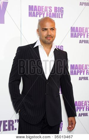 LOS ANGELES - APR 19:  Philip Anthony-Rodriguez  arriving at the