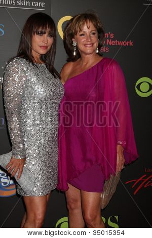 LAS VEGAS - JUN 19:  Crystal Chappell, Hillary B. Smith arriving at the  38th Daytime Emmy Awards at Hilton Hotel & Casino on June 19, 2010 in Las Vegas, NV.