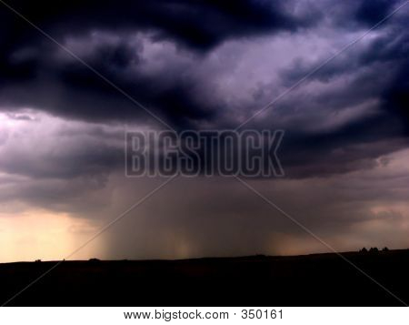 Downpour Of Rain
