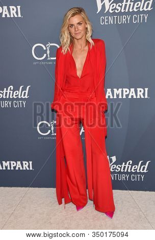 LOS ANGELES - JAN 28:  Eliza Coupe arrives for the Costume Designers Guild Awards on January 28, 2020 in Beverly Hills, CA