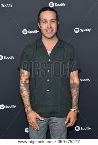 LOS ANGELES - JAN 23:  Pete Wentz arrives for the Spotify Best New Artist 2020 Party on January 23, 2020 in Los Angeles, CA