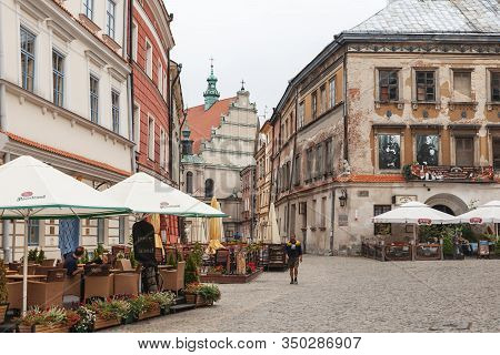 Streets And Architecture Of The Old City Of Lublin