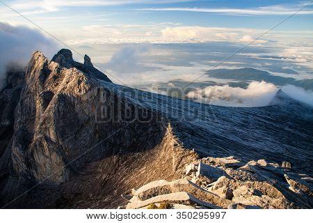 Mount Kinabalu Summit Rocky Peaks, Borneo, Malaysia