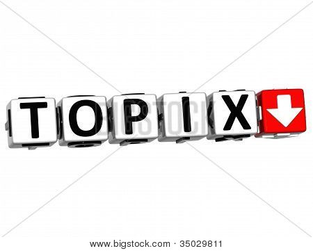 3D Topix Button Click Here Block Text