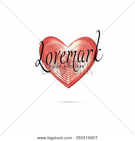 Love Mark, Love Brand Concept.love Mark, Love Brand Concept . Philosophy Of Brand Service, Product A