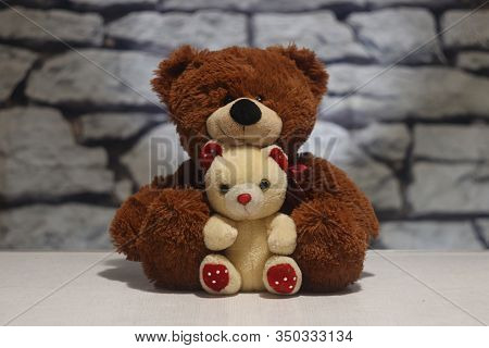 Bear, Teddy, Toy, Brown, Isolated, Cute, White, Animal, Soft, Love, Gift, Childhood, Stuffed, Teddy-