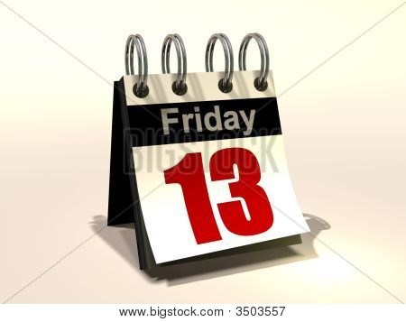 Calendar Friday The 13Th
