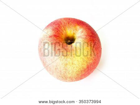 Pink Apple Isolated On White Background Cutout