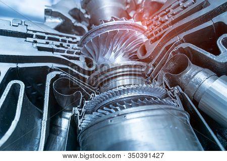 model of gas-turbine auxiliary power unit.