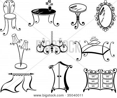 A Set Of Furniture.eps