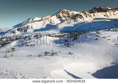 Winter Landscape Of  Tatra Mountains Zakopane,poland