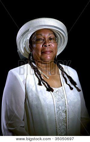 African-american Woman Portrait