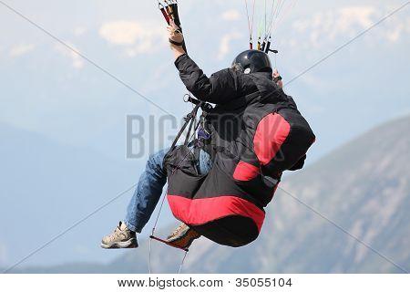 Paraglider Manoevres