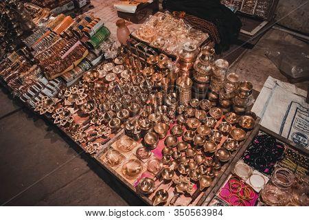 Bangles In The Street Of Varanasi, India