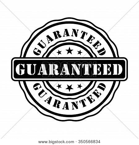 Guarantee Rubber Stamp Icon Vector Design Templates