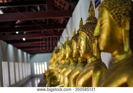 Phra Sri Mahathat Temple, Woramahawihan Or Big Buddha Temple, Or The Large Phra Sri Phra Buddha Temp