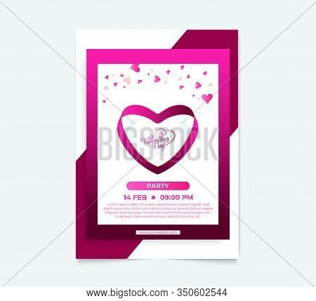 Stylish Beautiful Valentines Day Heart Background. Valentines Day Background. Valentine, Valentine D
